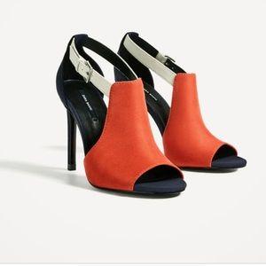 Zara high heels/multicolor